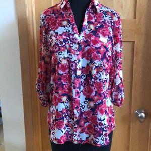 Floral express blouse